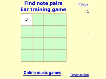clicca per giocare