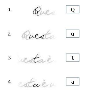 riconoscere font da immagine online dating